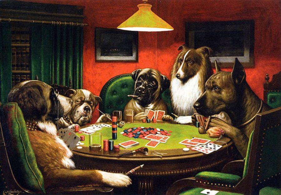 quadri famosi con cani
