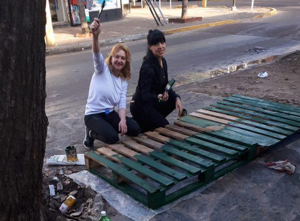 Al lavoro! (Crediti foto: Elenice Rozane Roxy - Facebook)